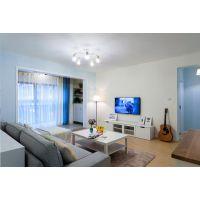 怀柔136平三居室现代风格装修效果图