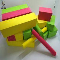 胜月工厂定做EVA彩色38度海绵儿童环保玩具积木 异形研磨泡绵球