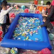 心悦游乐小型充气摸鱼池商场搞活动用的水上乐园道具