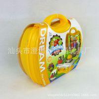 厂家直销 儿童过家家 仿真餐具玩具 迷你高级餐具手提箱