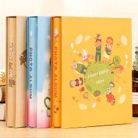8寸200张风格影集插页式盒装4种相册7寸过塑可以放纪念册