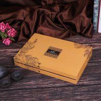 厂家直销牛皮纸盒定做高档礼品包装盒定制茶叶盒保健品食品包装盒