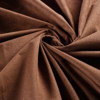 厂家直供经编麂皮绒染色仿皮绒时装家纺沙发抱枕面料