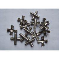 供应全国隐形防盗网隐形防护网专用304不锈钢材质十字扣