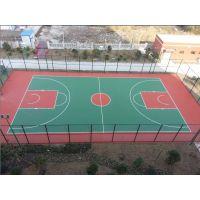 阜阳承接硅PU篮球场施工 环氧地坪漆 环保耐用运动地面涂料