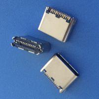 USB 3.1TYPE-C 母座夹板0.8 1.0 外露6.9MM 6P 16P 24P 拉伸铆合