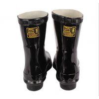 安全牌25kv高筒高压电绝缘靴 高筒橡胶电工靴
