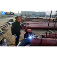 览众管道焊接机器人|野外管道施工自动焊设备|便携式管道焊接机器人