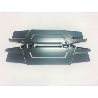 深圳铝合金移动硬盘散热器 氧化处理散热马甲