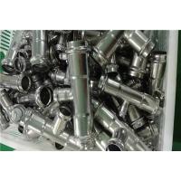贵州薄壁304不锈钢酒店用国标管材三通热卖卫生级管件价格