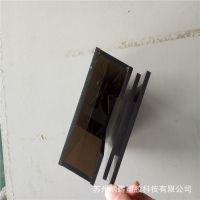 PC板加工定制滑道盒子插纸盒机械罩壳实验室量具盒透明PC板材