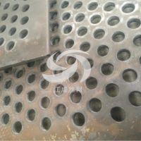 专业生产重型冲孔网 厚板矿用圆孔网 锰钢板洞洞过滤板网