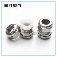 304硅胶不锈钢防水接头M12M16M20耐高温格兰头 耐热硅胶密封接头