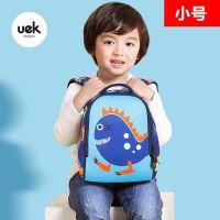 UEK新品儿童书包幼儿园男女宝宝1-2-3岁卡通趣味背包休闲双肩包