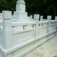 承接旗台汉白玉石栏杆 园林工程青石桥栏板 景区建筑石雕栏杆