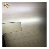 佛山金一帆304不锈钢镀铜板 手工交叉拉丝板材 高档装饰板 青古铜做旧发黑板