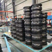 工业用避震喉厂家 法兰式橡胶软接头定制 耐油软连接报价