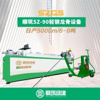 厂家直销同款山东优耐德轻钢房屋89型龙骨生产设备