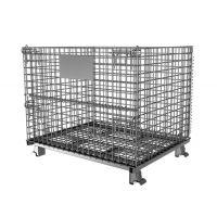仓储笼现货厂家批发储物铁笼子 防爆笼带轮子重型仓库笼