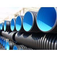 供应HDPE排污管 市政污水管 直径600排水管 批发价格