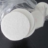 加工订做直径75*3mm自粘式绒布羊毛抛光垫 毛毡垫 化纤毡垫