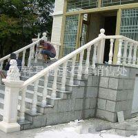 厂家供应 石雕栏板 石楼梯 护栏 汉白玉雕刻