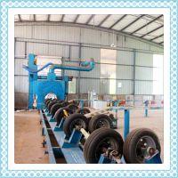 供应 多型号高效抛丸器抛丸除锈机 护管除锈设备