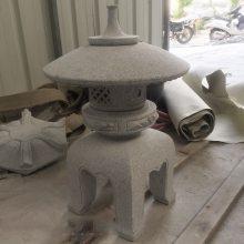 中式户外石雕石灯 寺庙古建石雕