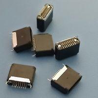 全塑苹果母座 板上6.5 8PIN 苹果母座 iphone7-8 简易型USB-创跃达