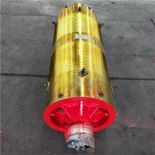 直径300-2000mm双梁钢丝绳卷筒组 卷扬机启闭机滚筒 定做大吨位非标卷筒