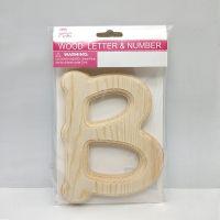 袋装立体字母儿童DIY手工木制品益智拼图幼儿园教学早教玩具定制