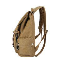 韩版潮流帆布包男包户外运动背包旅行电脑包中学生书包休闲双肩包