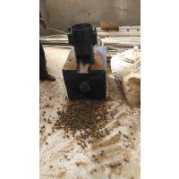 马鞍山棉花秸秆压块机 多功能秸秆成型机燃料体积小