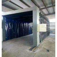伸缩式喷漆房移动式喷漆房厂家漆雾环保设备乾盛喷漆房定制