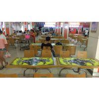 高校宣传推广 武汉校园桌贴广告