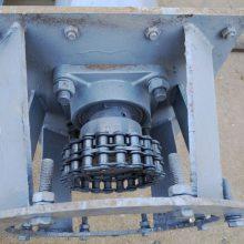 原厂定制 不锈钢水泥U型螺旋输送机 槽盖板料槽水平输送机