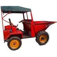 益惠热销小型装载机械 矿用前卸式翻斗车 载重3吨四轮工程车