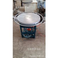 杂粮煎饼鏊子山东煎饼机燃气旋转煎饼炉子电转杂粮煎饼机各种大小