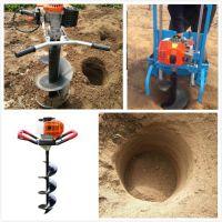 厂家直销挖坑机 打眼机汽油 小型地钻机