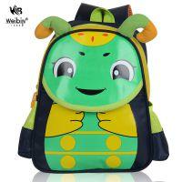 威斌厂家批发定制3D糖宝图案书包幼儿园男女童双肩包韩版儿童书包