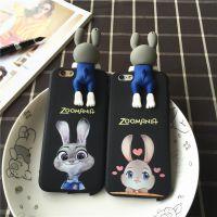 可爱卡通plus手机壳 iphone6立体公仔保护壳 苹果6s硅胶全包软壳