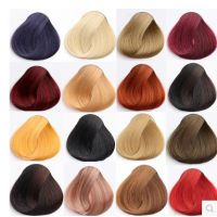 jsh彩色紫色纯染发剂植物遮盖白发纯黑色天然棕色染头发无刺激