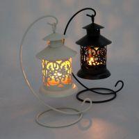厂家直销金属铁艺镂空烛台 浪漫婚庆蜡烛台 欧式摩洛哥复古烛台