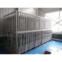四川钢板货架结构 立式板材货架设计图 铝板存放架