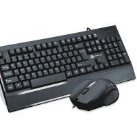有线键盘鼠标套装家用办公游戏台式电脑笔记本通用双USB接口 加宽