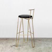 北欧现代吧台椅简约铁艺吧椅酒吧高脚椅餐厅咖啡厅吧台椅休闲椅子
