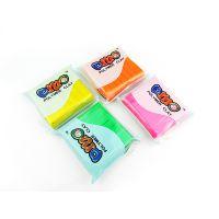 优质厂家直销软陶泥安全无毒儿童益智DIY玩具 50克OPP袋包装
