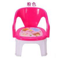 儿童椅子小孩家用卡通可爱塑料板凳幼儿园宝宝加厚凳子靠背椅成人
