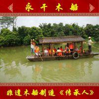 江苏泰州传统画舫船生产厂家观光画舫船价格客船