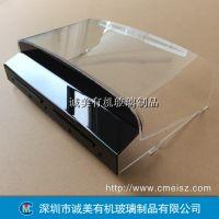 游戏机设备保护盖 有机玻璃热弯防护罩 深圳机床防尘罩
